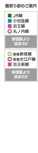 アトム法律事務所新宿支部最寄り駅